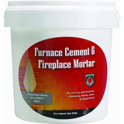 Meeco S Red Devil 10 3 Oz Black Furnace Cement And