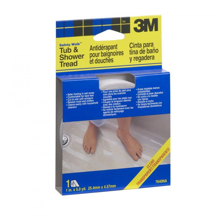 3M - 1 in. x 180 in. Safety-Walk Tub and Shower Anti-Slip Tape