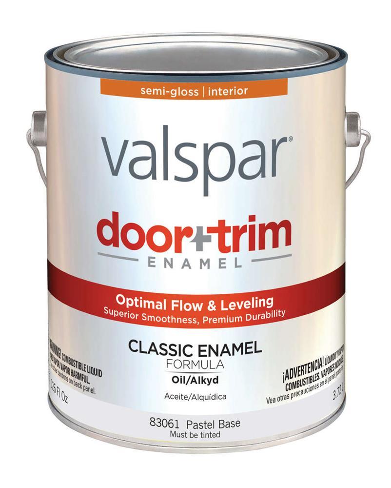 Door U0026 Trim Enamel, Semi Gloss, Pastel Base 83061, 1 Gallon