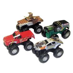 Monster Jam Truck Ornament, Assorted