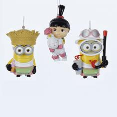 Despicable Me Ornament, Assorted